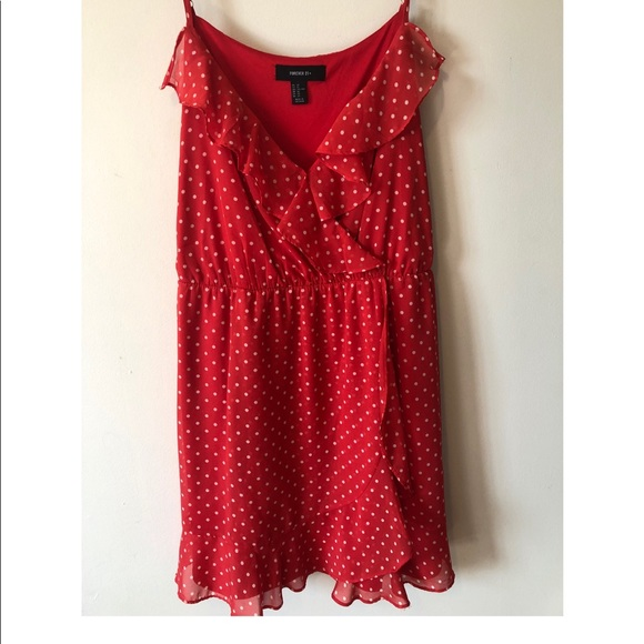 Forever 21 Dresses & Skirts - Polka dot Baby Doll Style Dress